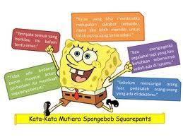 Kata mutiara ala Spongebob Squarepants