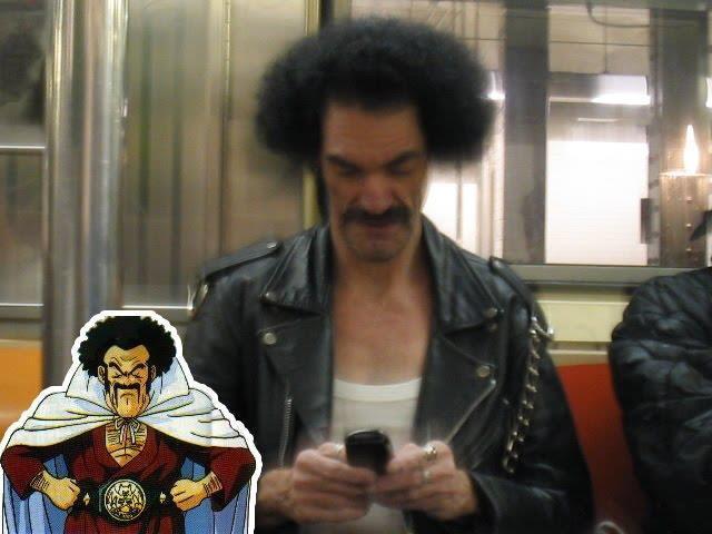 Ada yang kenal dengan orang ini...? Mr. Satan versi aslinya, Hehehe..