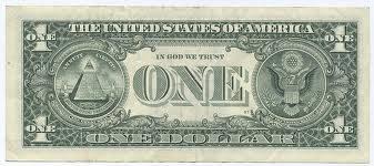 Sangat membungungkan di gambar uang 1 dolar terdapat lambang dajal kata para orang alim ulama ini tanda kesuksesan Dajal.....!!!