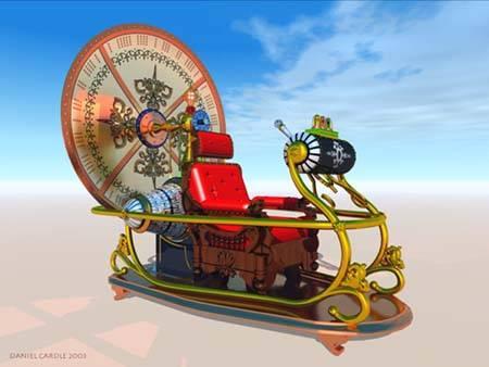 ini adalah mesin waktu yang sering dibicarakan oleh orang dan kadang ada yang bertanya apakah mesin waktu memang ada atau hanya sebuah misteri khayalan,dan jika mesin ini memang ada otomatis masa depan akan berubah+dapat menimbulkan masalah.