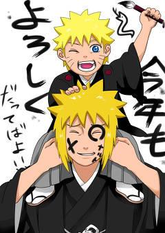 Naruto Dan Minato :D
