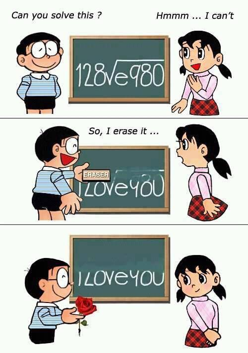 Nobita so sweett! wow nya gan...