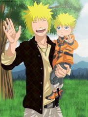 Minato dan Naruto :D