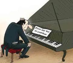 mw main piano, tapi maLah jadi begini .. hahah :D