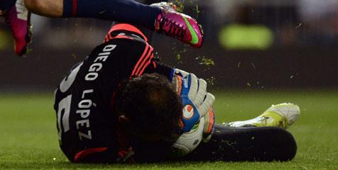 Kiper anyar Real Madrid, Diego Lopez merasa puas dengan penampilan debutnya pada leg pertama semifinal Copa del Rey kontra Barcelona yang berakhir imbang 1-1 kemarin. Baru digaet dari Sevilla pekan lalu, Lopez langsung dipercaya mengawal gawan
