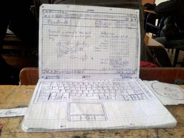 WAW keren kan,, laptop hasil karya seseorang yang penuh kreativitas dan seni yang tinggi :)