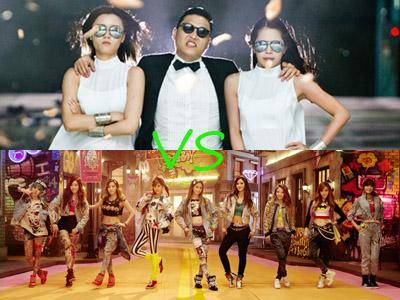 Akankah I Got A Boy SNSD Kalahkan Gangnam Style Milik Psy?