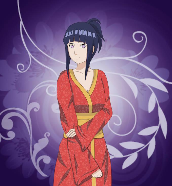 Hinata memakai Kimono....... Silahkan Klik WOW untuk Hinata Fans