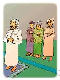 Ada 4 orang mau sholat berjamaah, tapi saat itu imamnya gak datang, jadi : jawara, u