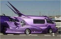 kalau kamu punya mobil keren dan besar ini apa yang akan kamu lakukan dengan mobil ini?