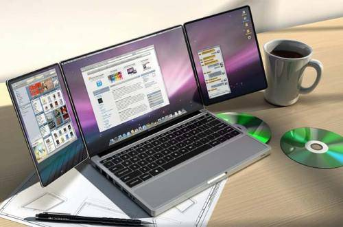 WOW Generasi laptop masa depan … Mungkin bsa di sebut Paper PC karena bentuknya yang seperti lembaran kertas berupa layar sebagai antar muka dan dilengkapi pena untuk mengoperasikannya dengan cara touch screen. Didesain oleh Avery Holleman.
