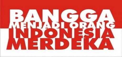 Sudah banggakah Anda menjadi orang Indonesia? Bisakah Anda menggunakan Bahasa Indonesia yg baik dan benar (Bukan Bahasa ALAY)? Bisakah Anda melestarikan Budaya Indonesia? Bisakah Anda menjaga kemerdekaan Indonesia?