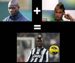 BALOTELLI + NEYMAR = PAUL POGBA