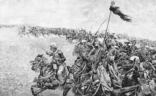 Mamluk sekelompok budak yang masuk Islam dan melayani para khalifah Islam dan para sultan Ayyubiyah selama Abad Pertengahan. Setelah mamluk telah masuk Islam, banyak yang dilatih sebagai prajurit kavaleri.