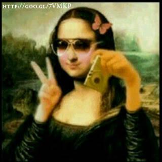 Ini Sobat?, Mona Lisa Lagi NARSIS... hihihihi..