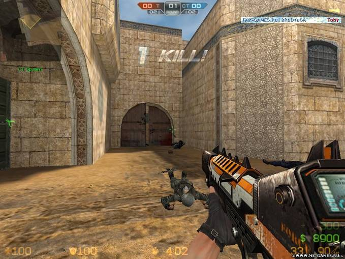 Yang Ingin Counter Exrem V7 coppy nih: Counter Strike Extreme V7 Update!