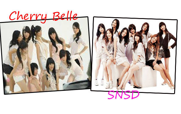 pilih mana yang Snsd : WOW yang chery belle : comment onwer: wow aja lah dri pada comment