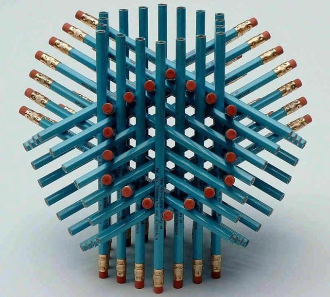 Kreasi dari pensil Awesome