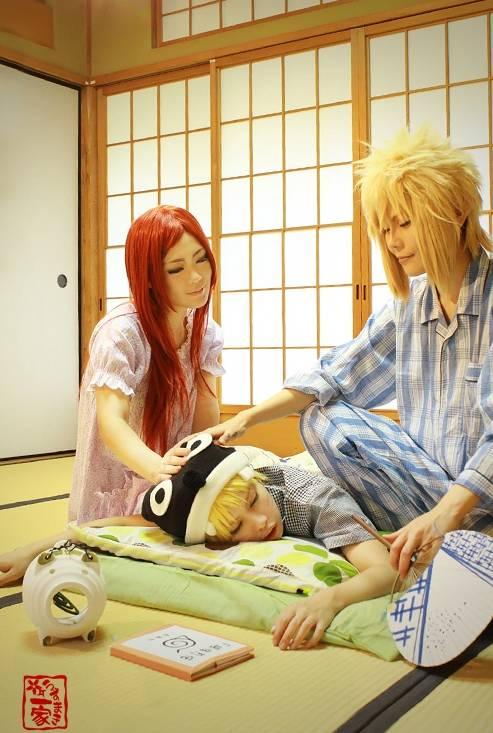 Uzumaki Happy Family ! ^^