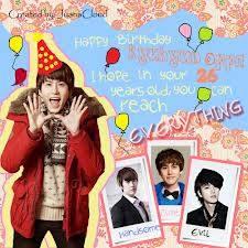 WOW Cho Kyuhyuns Birthday jadi TTWW 2 di Twitter !! Saengil Chukkha Hamnida oppa Kyu :*
