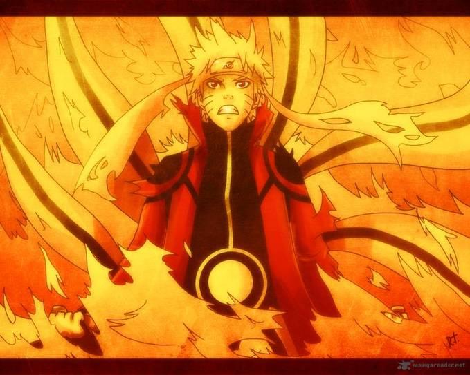 Naruto Sage+Bijuu mode