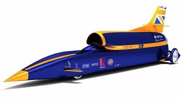 LONDON – Mobil tercepat di dunia Bloodhound SSC dengan kecepatan mencapai 1.000 MPH atau 1.609 kilometer perjam.