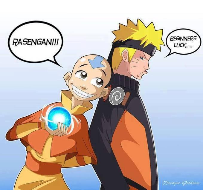 Hahahaha Lucu, AVATAR Juga Bisa Kalie Ya Bikin Rasengan ^_~ ^_^ (Jangan Lupa WOWNya Guys) :)