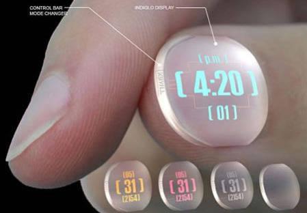 The Nail Timex Watch akan membuat kuku Anda keren dan juga menampilkan waktu, tanggal, AM/PM dengan format yang jelas. Anda dapat mengubah warna layar untuk menyesuaikan gaya Anda hanya dengan pers di ujung kuku.