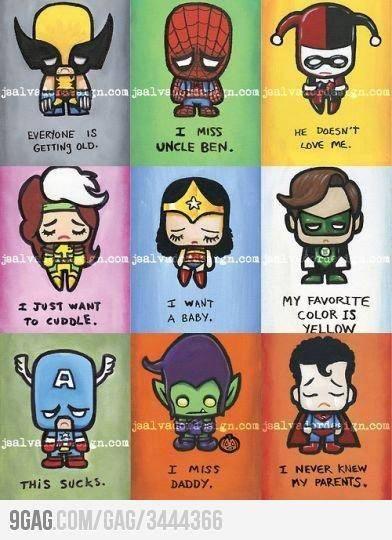 super hero pasti punya masalah