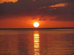 Beach Sunset , Jamaica