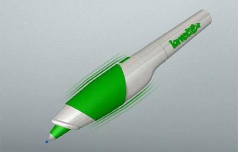 Inovasi unik nih, ada pena yang bisa geter kalo pemakainya typo (salah tulis).