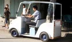 Kendaraan Listrik Gaza Pertama Dibangun dari Bahan Daur Ulang sebesar $ 1.000