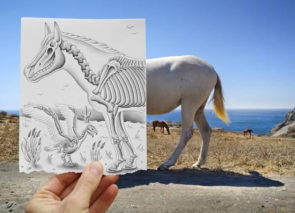 Hasil Karya Foto Imajinasi VS Realitas, Keren !!!!