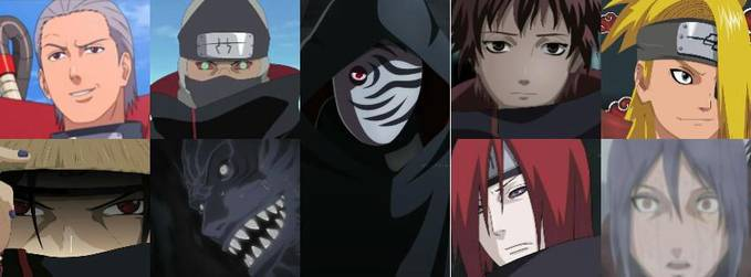 Siapakah anggota akatsuki yang paling kau sukai?