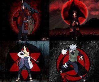 Madara --> wow Itachi --> wow+Share Sasuke --> wow+semuanya Kakashi -->wow & Komen
