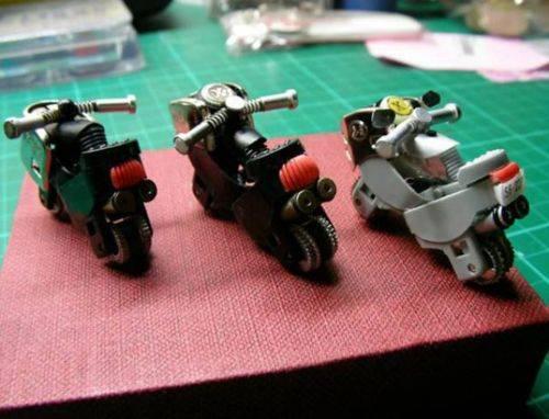 miniatur motor dari korek gas...,,kipa!!!