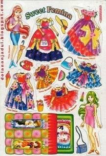 masih ingatkah kalian dengan mainan ini, khususnya bagi kalian para wanita semasa kecil..