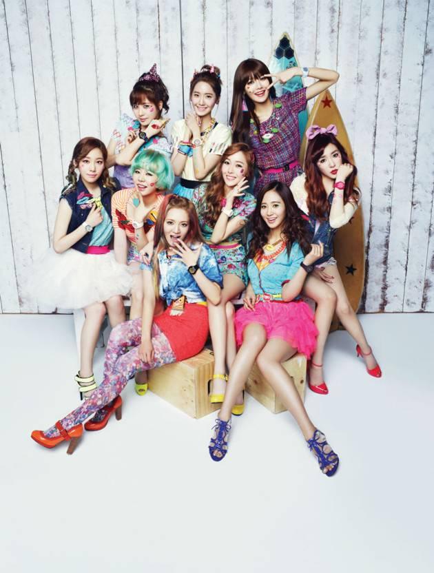Foto Girls Generation di Iklan Jam Tangan Casio Baby-G