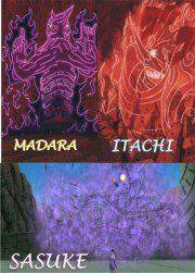 Susanoo adalah tekhnik yang menciptakan makhluk spiritual. Roh raksasa, mengelilingi dan melindungi pengguna. Ini adalah kemampuan yang ketiga yang diberikan oleh mangekyou Sharingan, setelah Amaterasu dan Tsukuyomi telah terbangun.