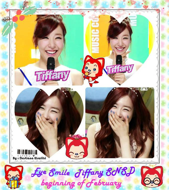 WOW Eye Smile Tiffany Hwang Beginning of February ^_^