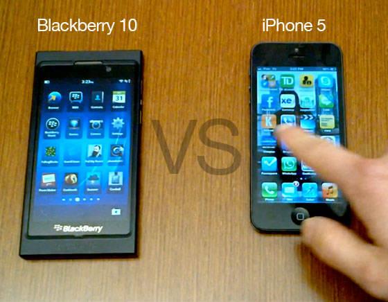 kamu pilih mana blacberry 10 atau iphone 5 kalau kepengen wow nyadong