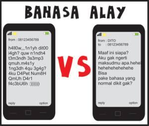 bahasa-bahasa alay nih silahkan di baca ya! :D