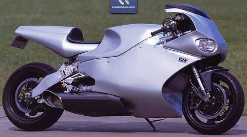 superbike Y2K bermesin turbin gas Rolls-Royce yang sanggup berlari lebih dari 350km/jam. wow gak nih motor?