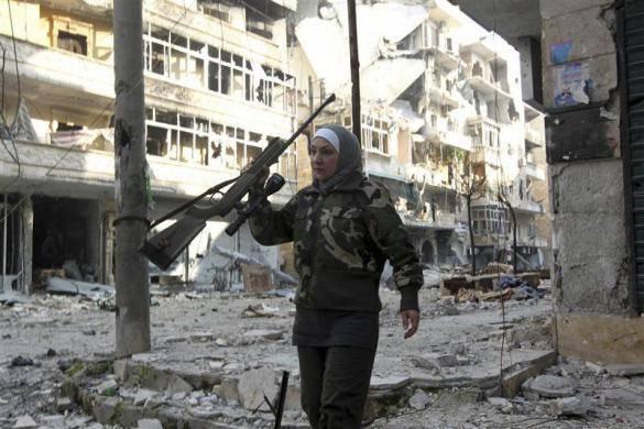 Guevara, Kisah Sniper Perempuan dari Aleppo
