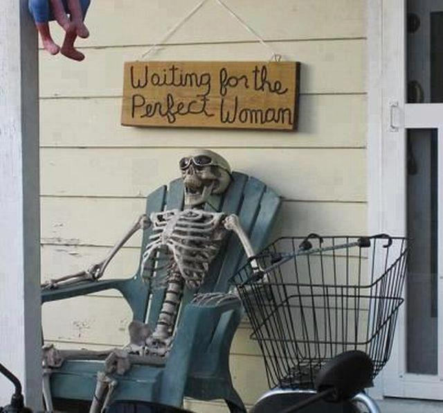 Waiting for the perfect woman..?? #LoL