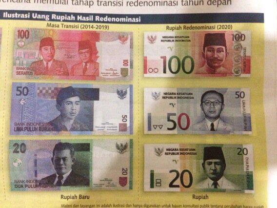 Siap2 friends, Bank Indonesia akan me-redenominasi mata uang Indonesia Rupiah mulai tahun depan. Klik gambar untuk detailnya