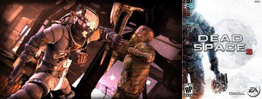 Petualangan cinta segi tiga di game Dead Space 3. Udah rilis untuk Windows, PS3, dan Xbox 360 loh.