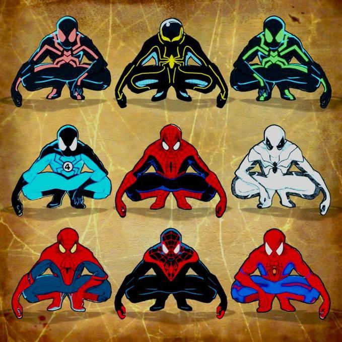 costume spider-man ternyata ada banyak...