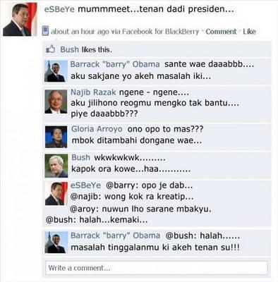 status FB SBY (Humor)