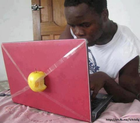 Laptop saya Apple koq :))